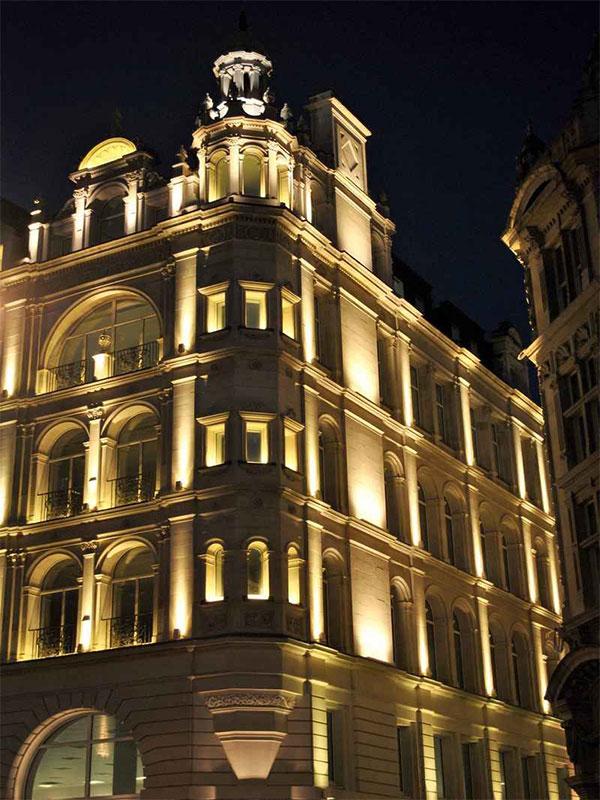 Classic shop facade design