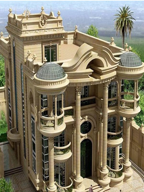 Modern classic facade design