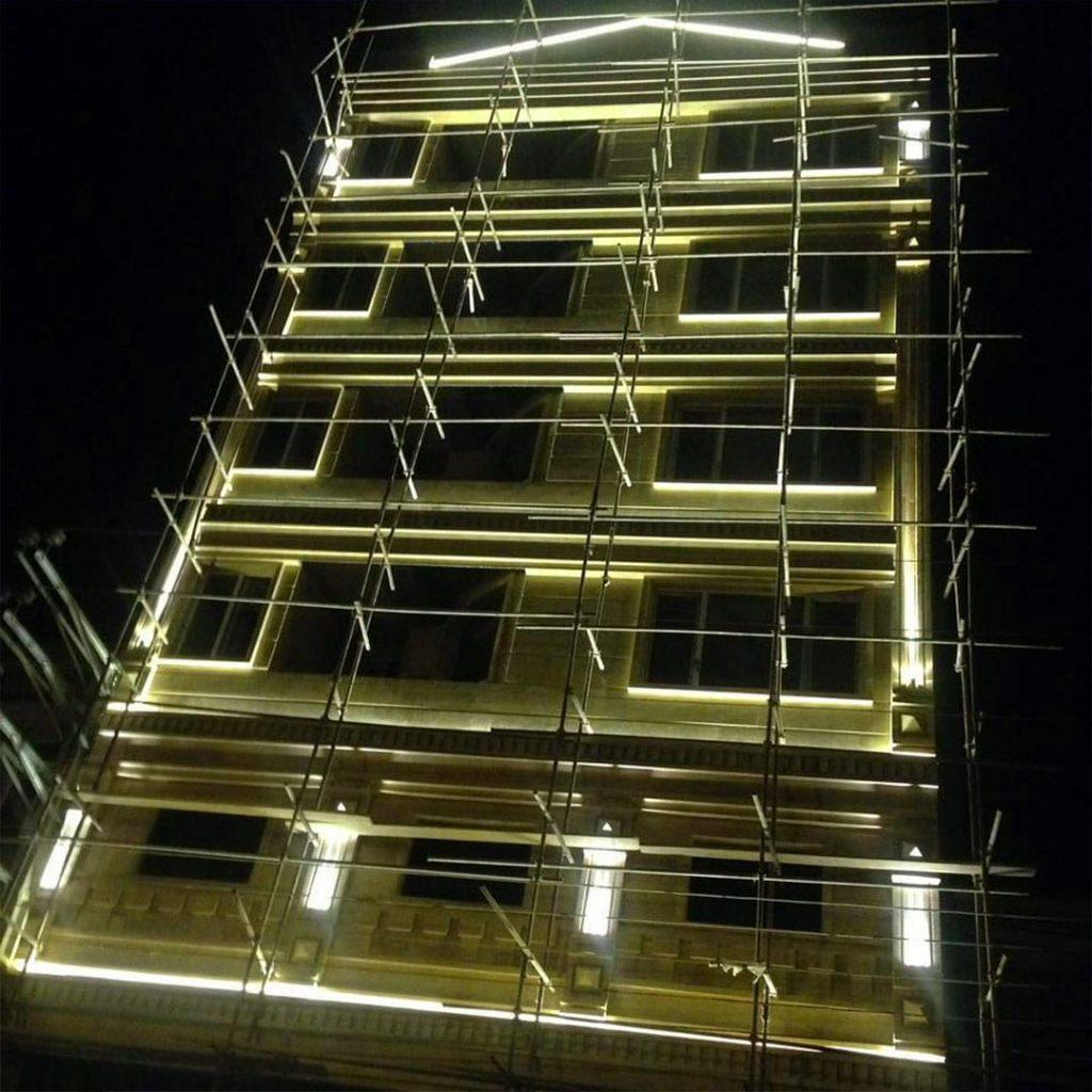 طراحی و بازسازی نمای ساختمان