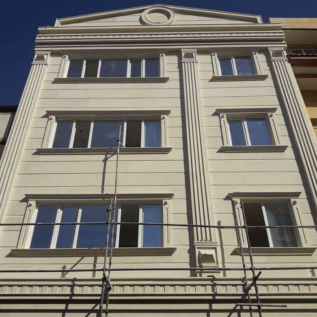 بازسازی نمای بیرونی ساختمان