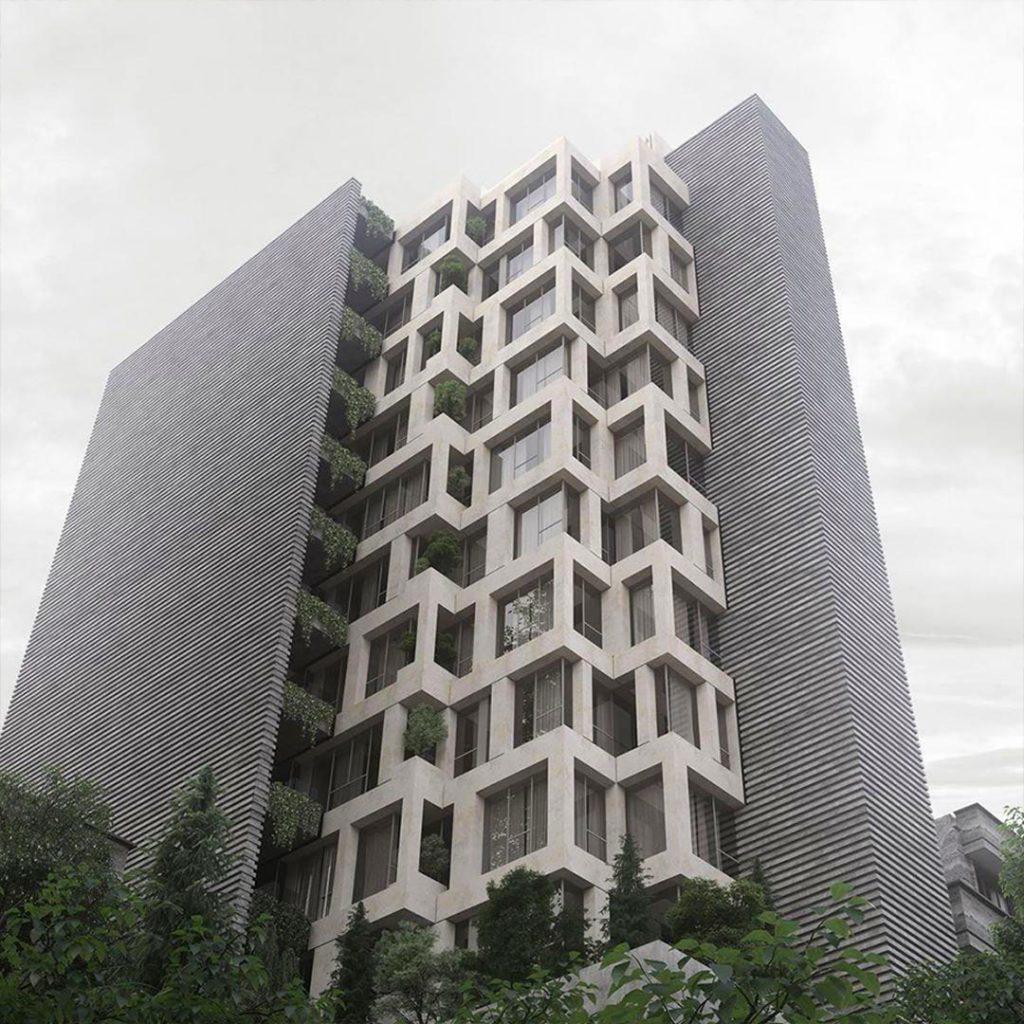 ترمیم و بازسازی نمای ساختمان