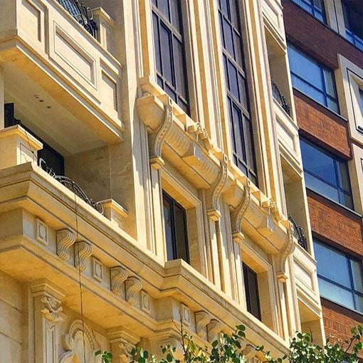 خدمات نمای ساختمان