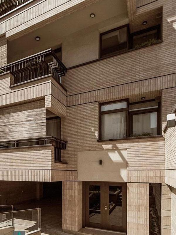 نمای ساختمان ارزان و شیک