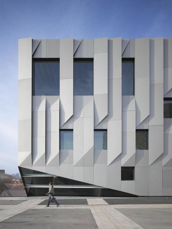 ورق آلومینیوم نمای ساختمان