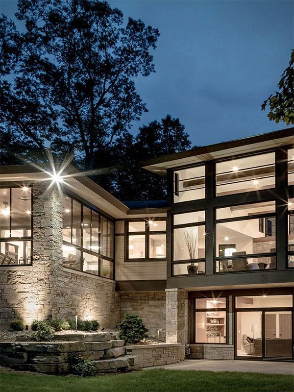 Cheap stone facade 1