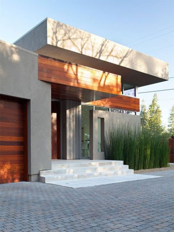نمای ساختمان ساده و ارزان