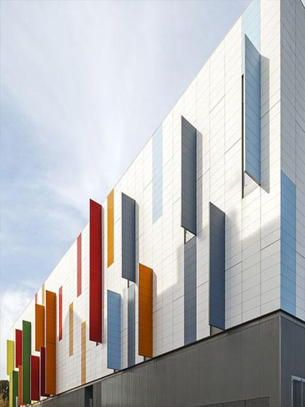 Commercial facade design 1