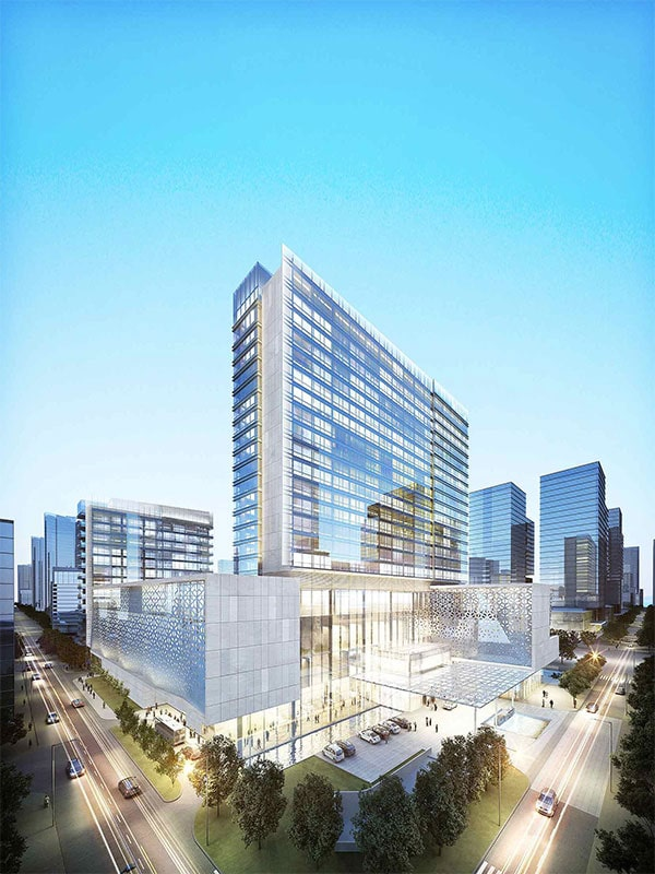 Cost of hospital facade