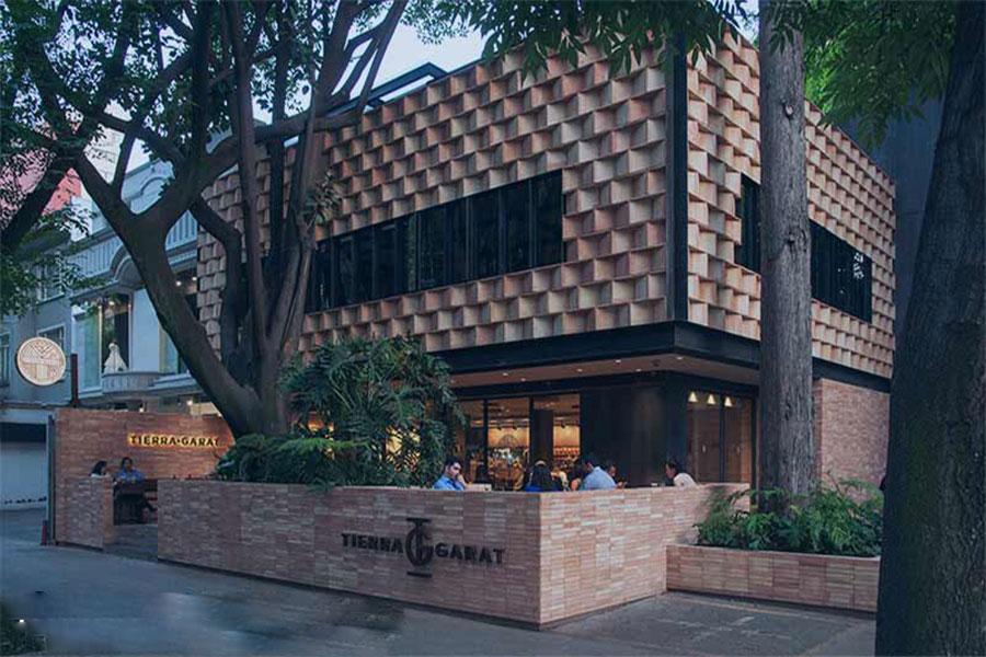 نمای رستوران طراحی
