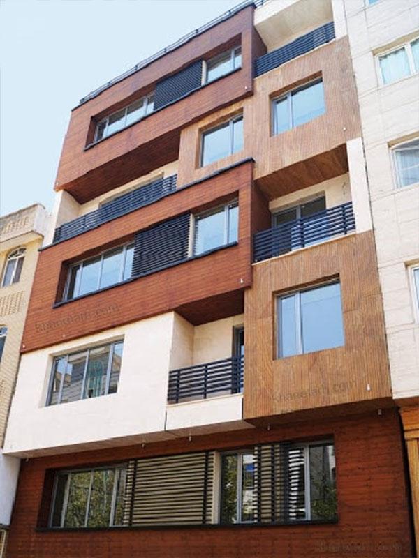 طراحی نما ساختمان مسکونی