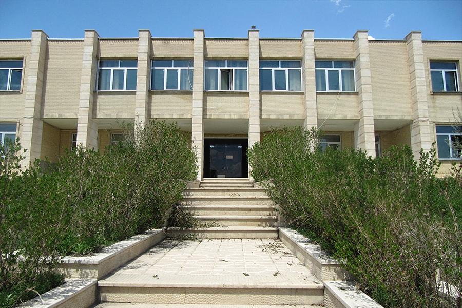 Facade design of dormitory building