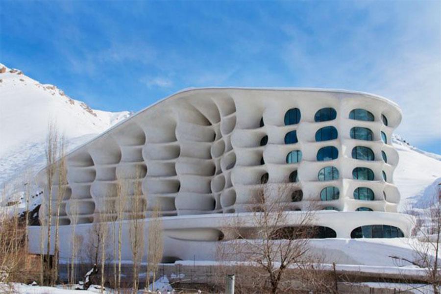 طراحی نمای هتل