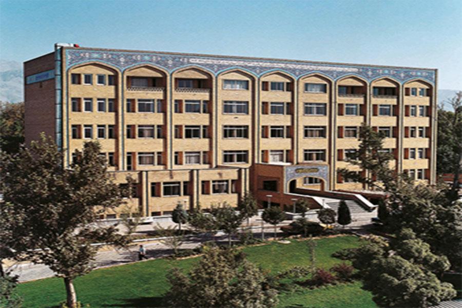 نمای بیرونی دانشگاه تهران