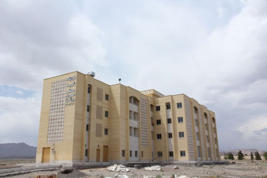 View of the student dormitory