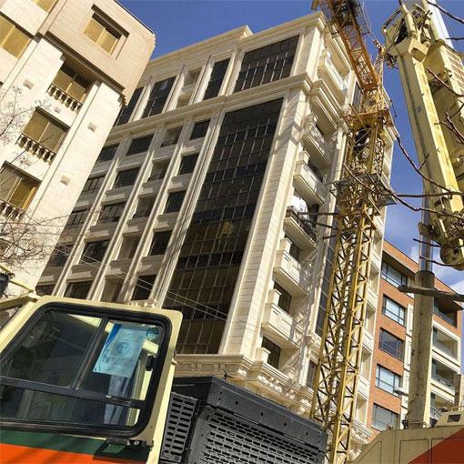 بازسازی نمای آجری ساختمان
