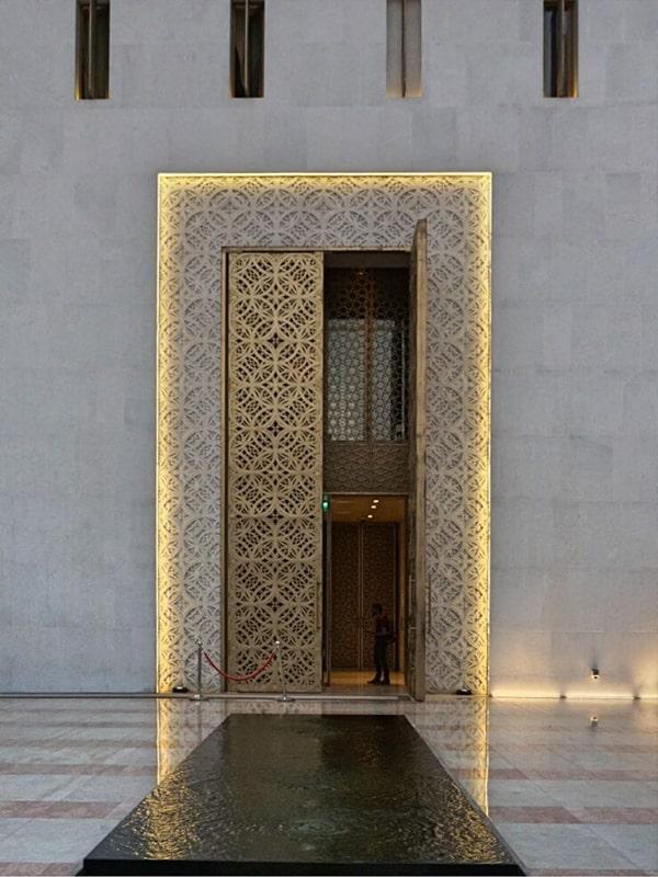 نورپردازی نما مسجد