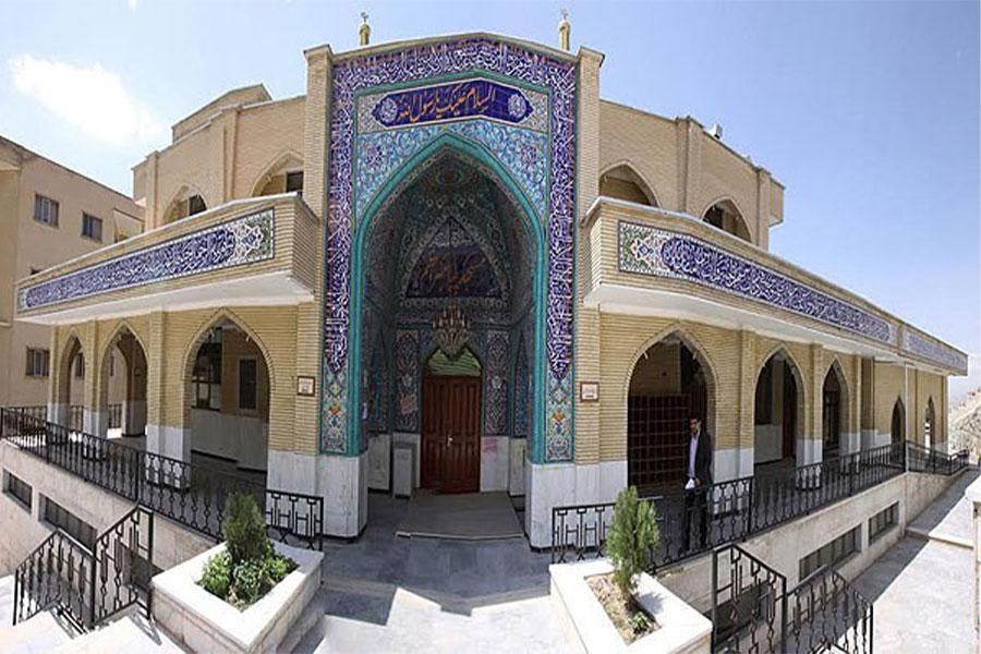 نمای مسجد مکی زاهدان