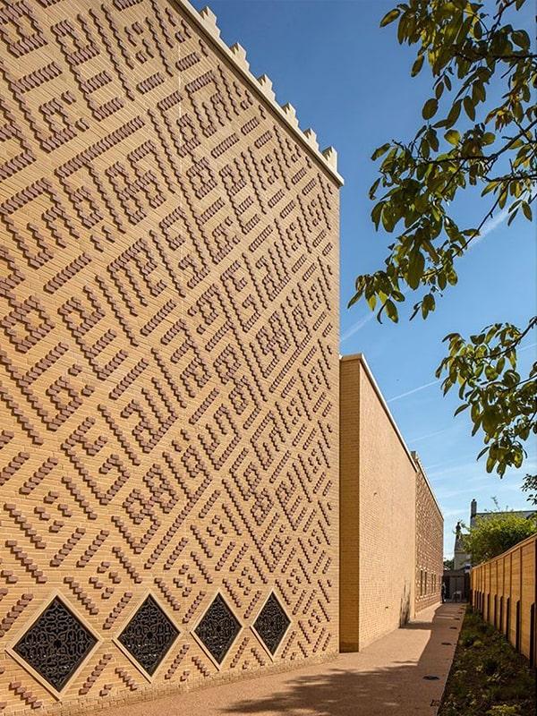 نمای مسجد