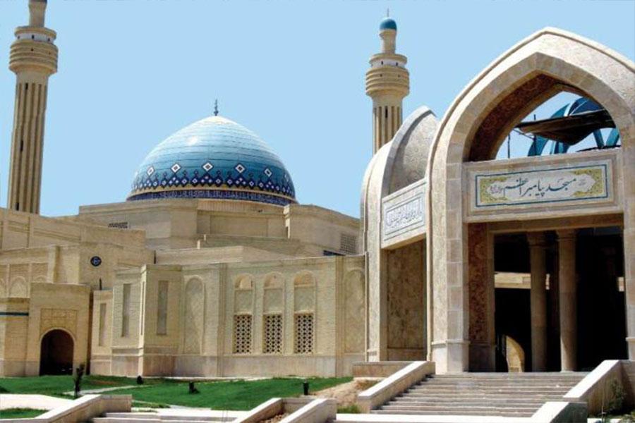 نمای مسجد مدرن