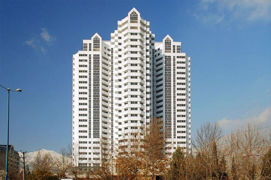 نمای برج های تهران