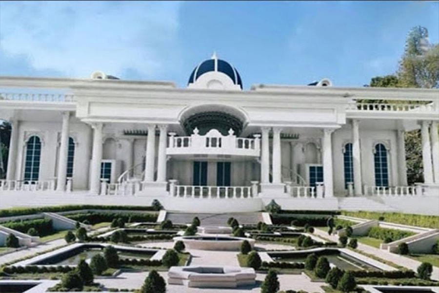 Wedding hall facade design