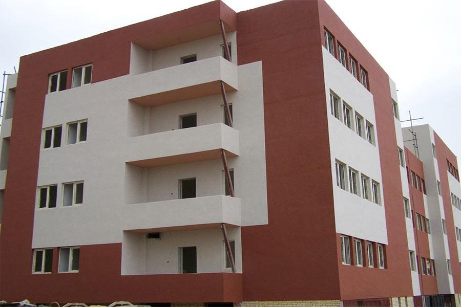 نمای بایرامیکس ساختمان