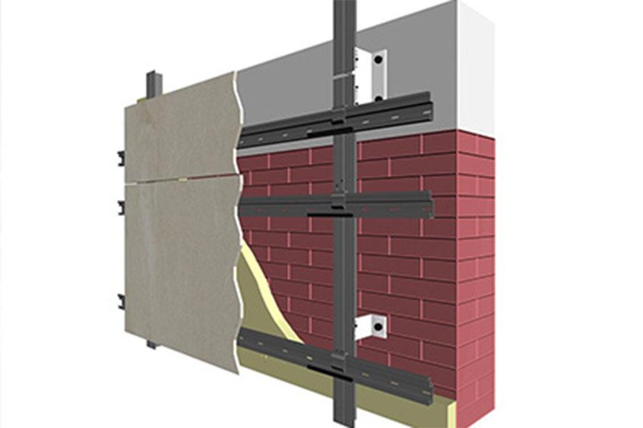 Dry façade system