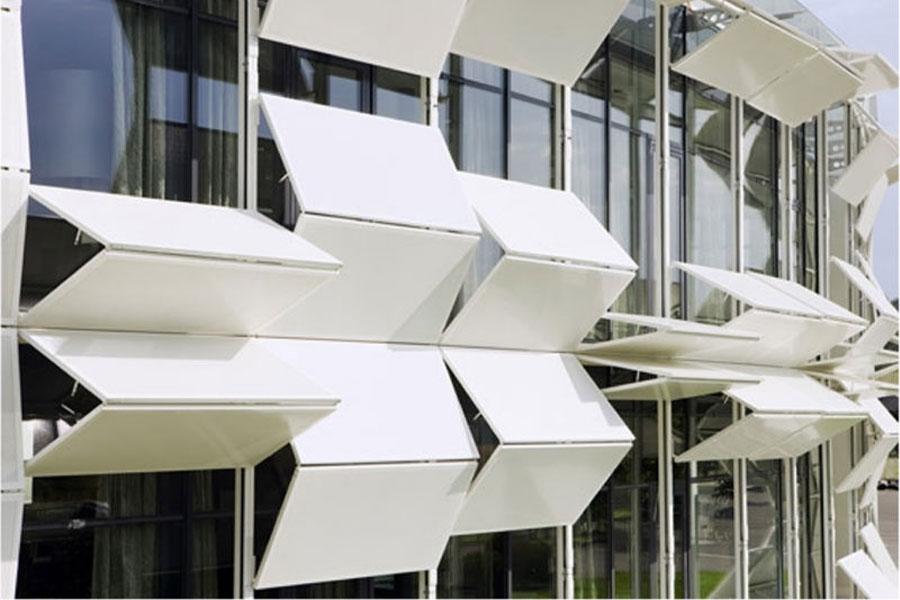 نمای دینامیک ساختمان
