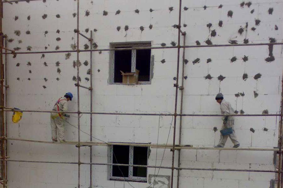 عایق نمای ساختمان