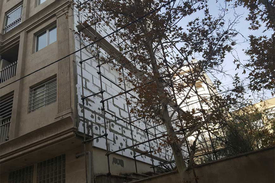 عایق حرارتی نمای ساختمان