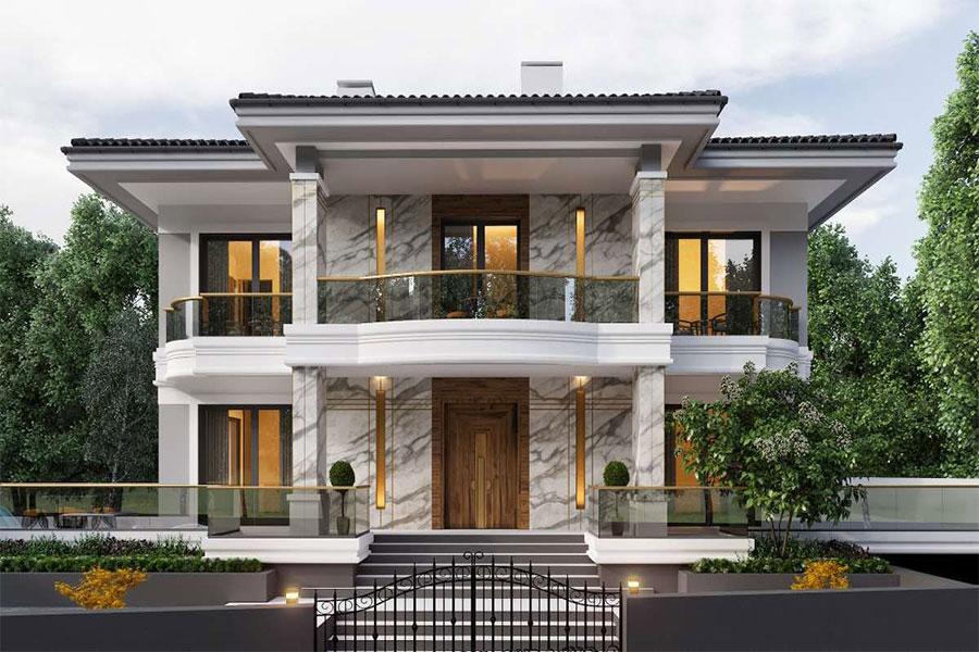 Classic facade design