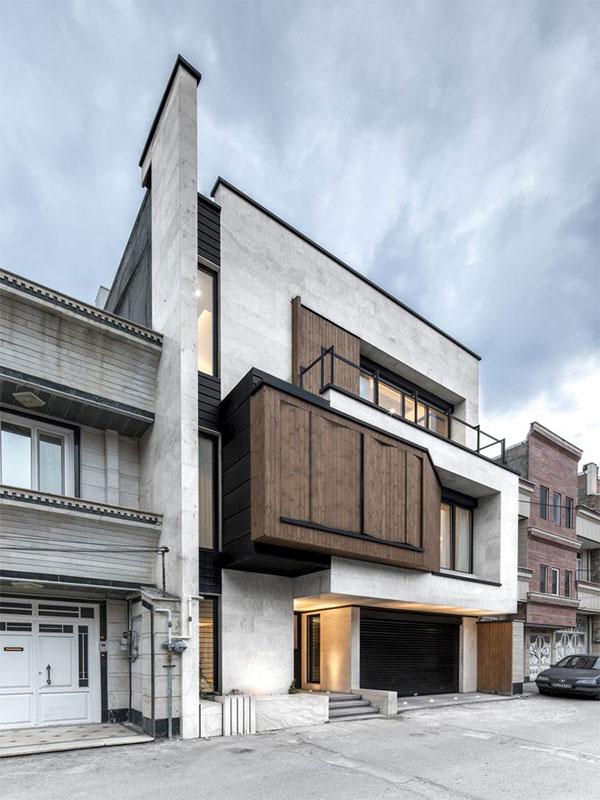 Disadvantages of concrete facade