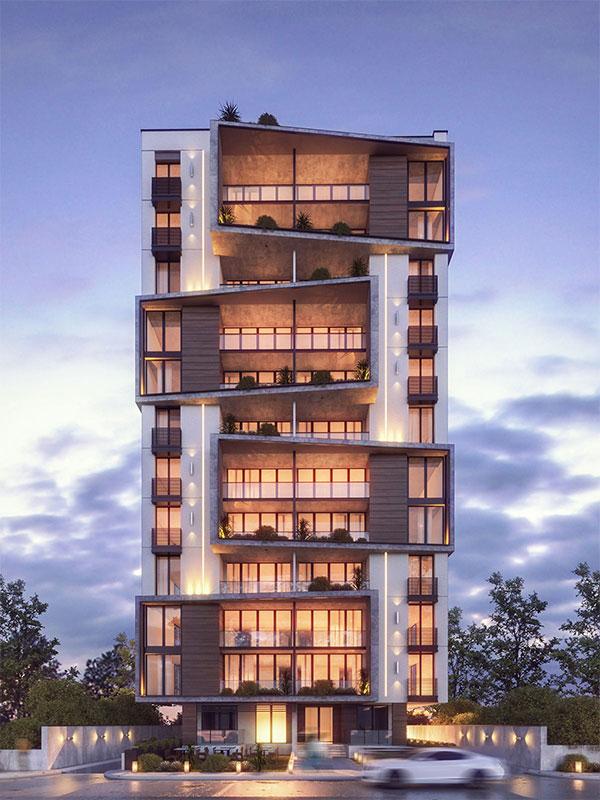 سفارش طراحی نمای ساختمان