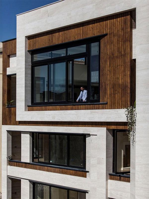 Execution of resistant facade