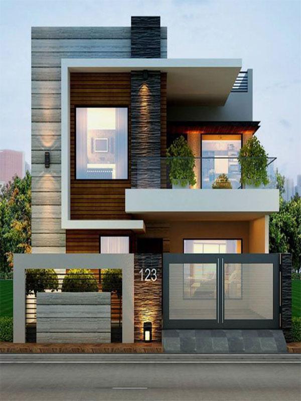 طراحی نما خارجی ساختمان