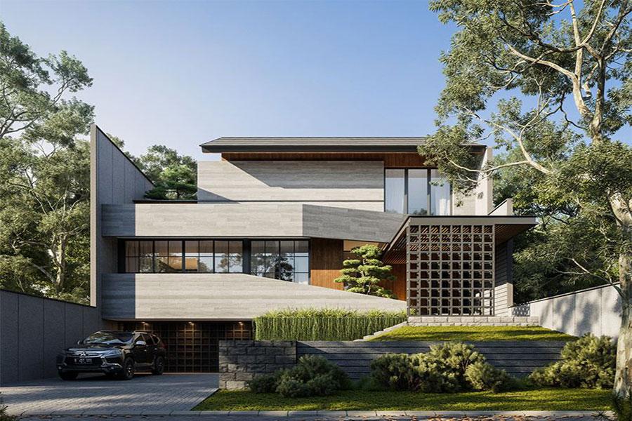 بهترین شرکت طراحی نمای ساختمان