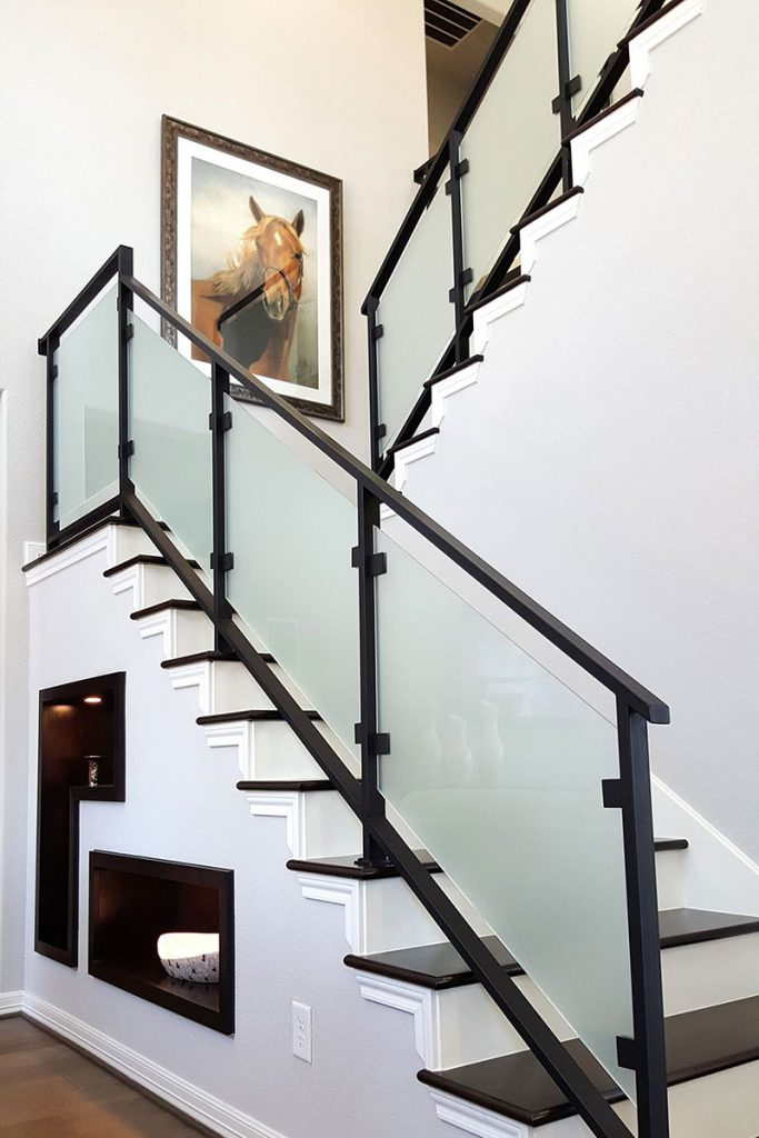 modern handrail design