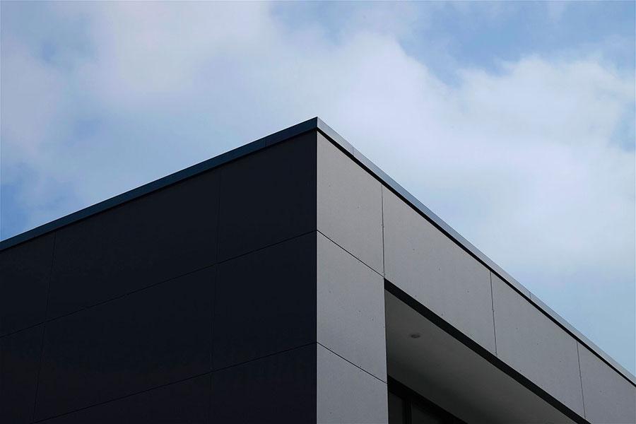 composite home facade