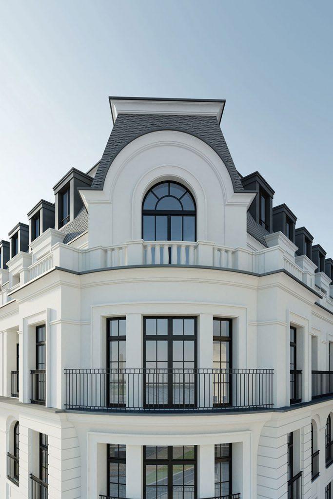 نمای ساختمان بر حسب سبک