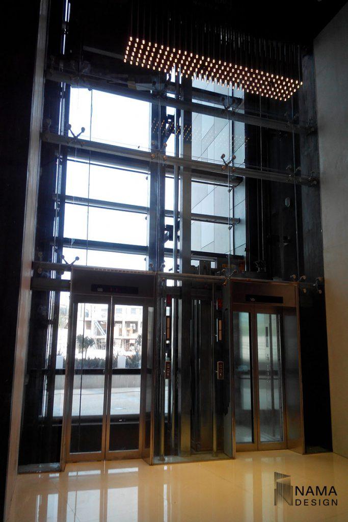 spider glass facade